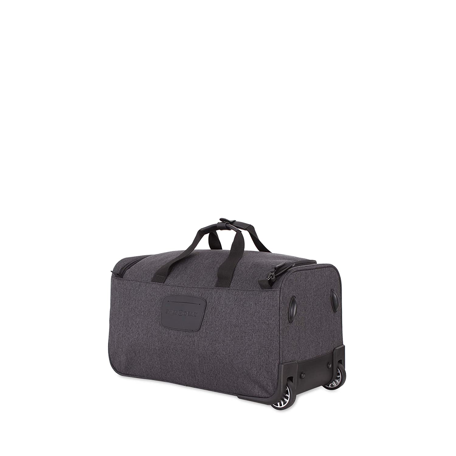 b0c63d421 Amazon.com | SWISSGEAR Getaway Weekend Wheeled 19-inch Duffel Bag | Rolling  Travel Luggage | Men's and Women's - Dark Gray | Travel Duffels
