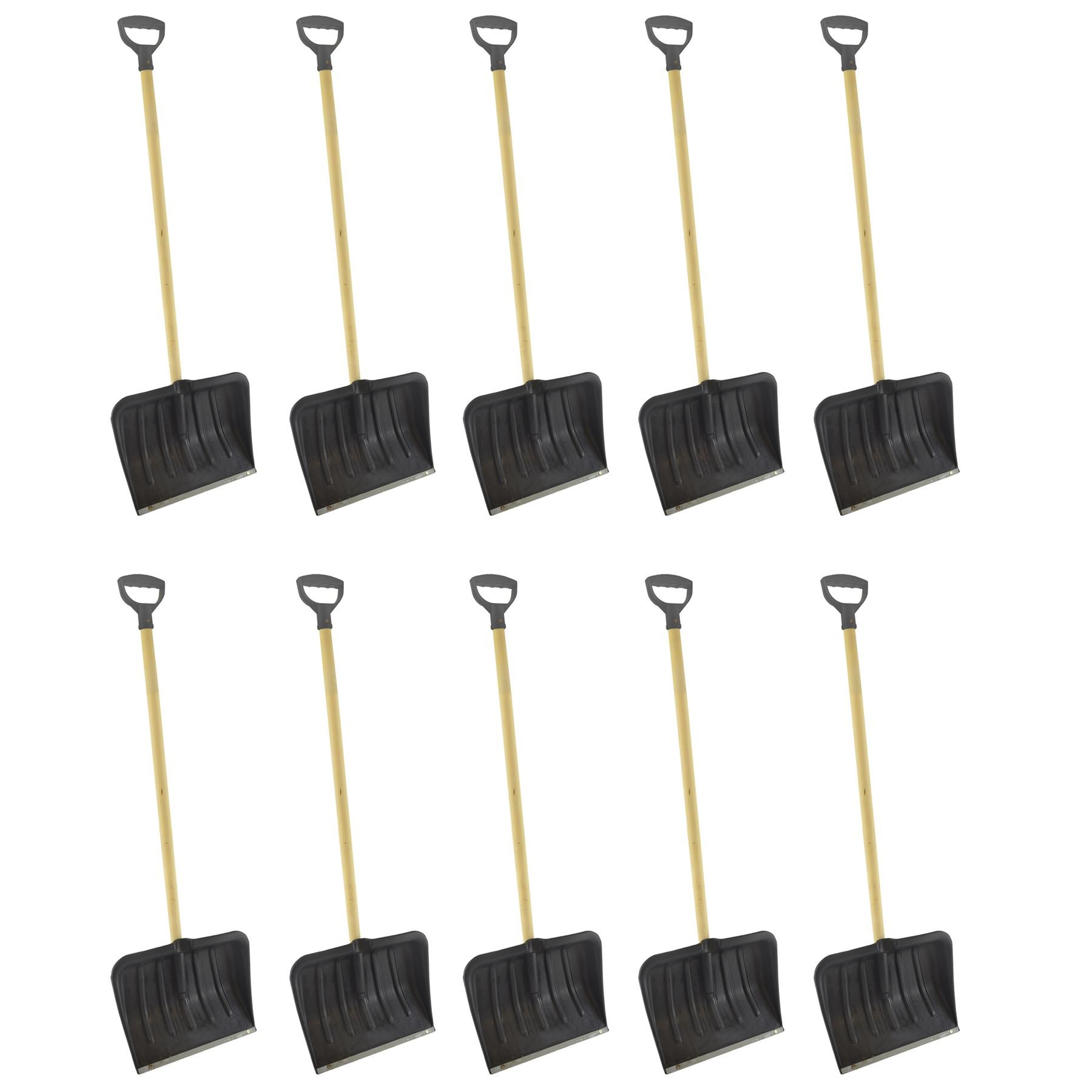 AB Tools 10 Long Handle Snow Leaf Shovel Scoop Remover Removal Clearer Clearing