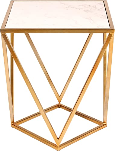 Kate and Laurel Maia Metal Side Accent Table