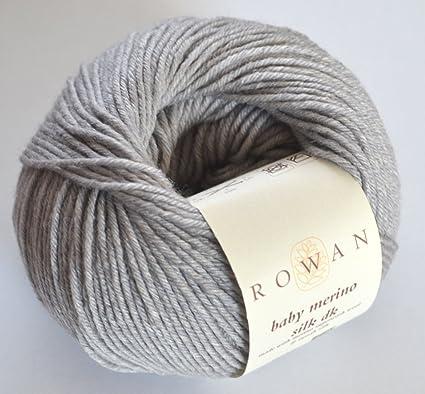 fc74b75ba Amazon.com  Rowan Baby Merino Silk DK Yarn Dawn 672