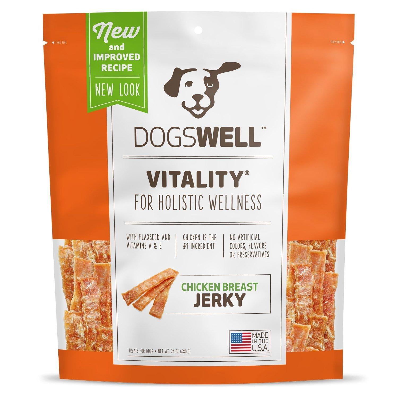 Dogswell Vitality Chicken Breast Jerky, 24 oz.
