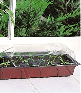 Hochbeet L 100x100x22cm Minigemusegarten Krautergarten Minibeet