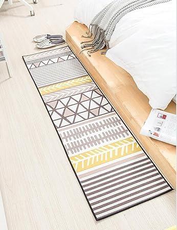 Qiangzi Moderne Hochwertige Teppiche Nordic Style Home Wohnzimmer Rechteck  Geometrische Muster Teppich Einfache Schlafzimmer Nachttuch Farbe