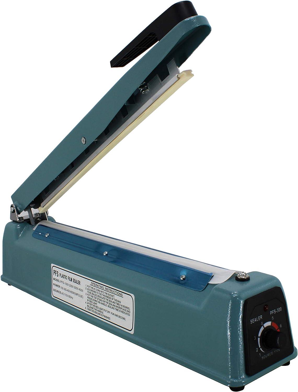 HFS 200 mm Impulse Manuelle Handversiegelung Hei/ßsiegelmaschine Poly Tubing Kunststoffbeutel R