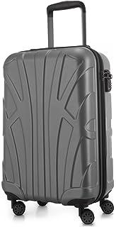 SUITLINE - Bagage à main, Valise cabine, Trolley, 4 roues, ABS très léger, TSA, 55 cm, 34 litres, Azul oscuro