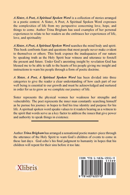 A Sister A Poet A Spiritual Spoken Word Trina Brigham  Amazon Com Books