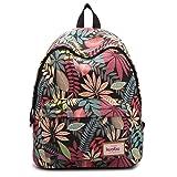 EasyHui Womens Girls School Backpacks Cute Flower