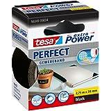 Tesa 56343-00034-03 Ruban adhésif extra Power Perfect (Noir) (Import Allemagne)