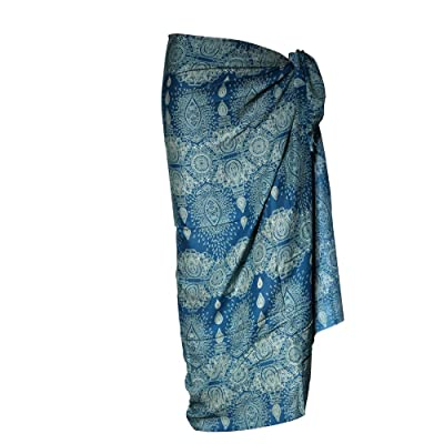 Paréo Pondichery - Turquoise