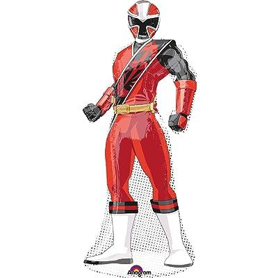 "Power Ranger Ninja Steel 42"" Shaped Balloon (Each): Toys & Games"