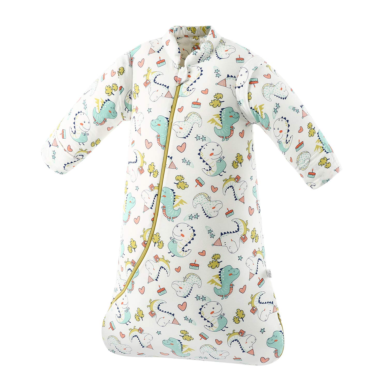 Amazon Com Toddler Sleepsack Winter Warm Wearable Blanket 3 5 Tog Sleeping Bag Dinosaur 2t 4t Baby