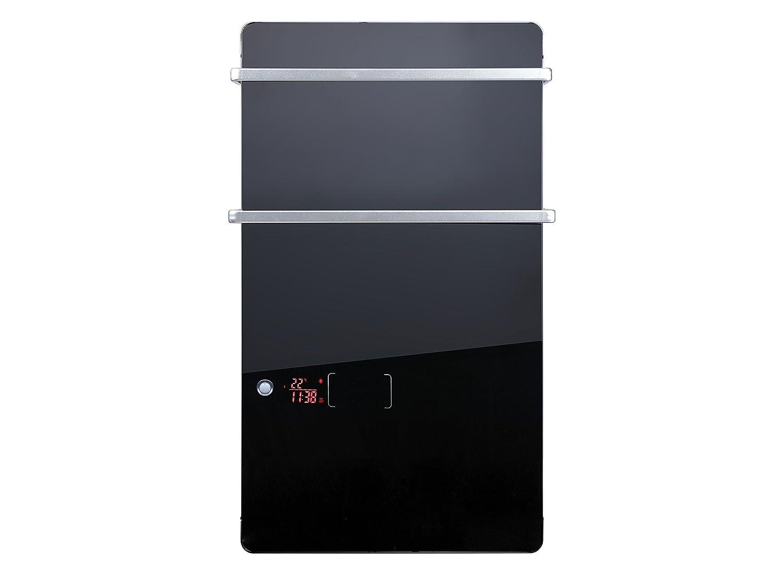 Toallero calefactor el/éctrico digital ZAFIR V2000T B Purline