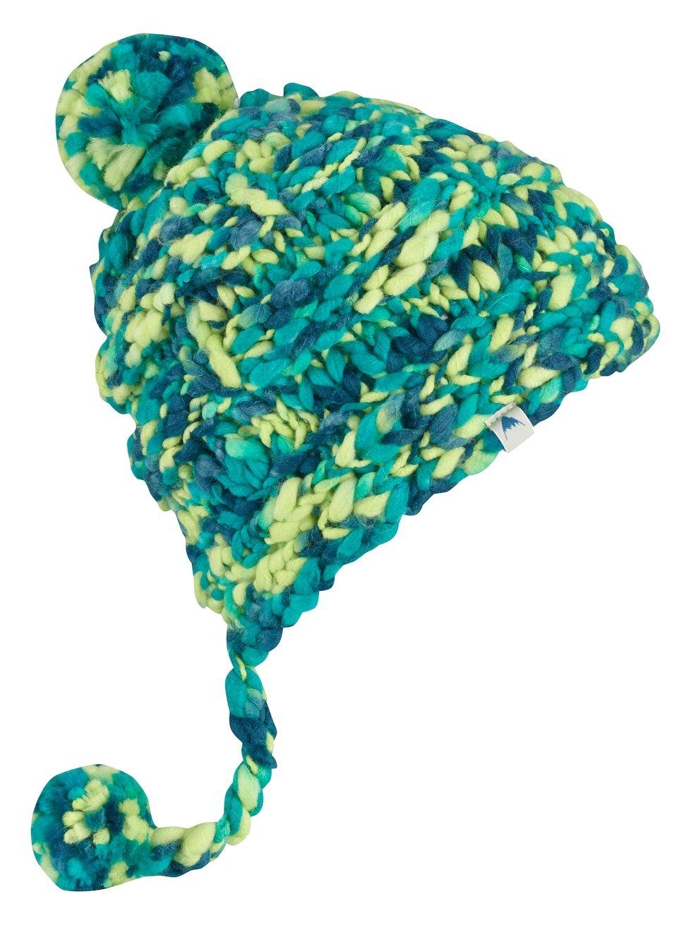 Burton Girls Nana Earflap Beanie, Heron Blue, One Size Burton Snowboards 105311