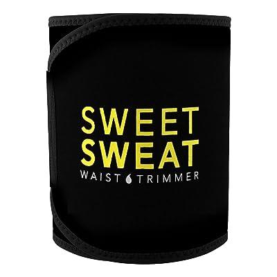 Doublure de taille Sweet Sweat Premium, pour hommes et femmes. Comprend un échantillon gratuit de Sweet Sweat Workout Enhancer!