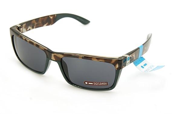 72797ba67b6 Amazon.com  Dot Dash Sunglasses LADS New color (shiny tortoise green ...