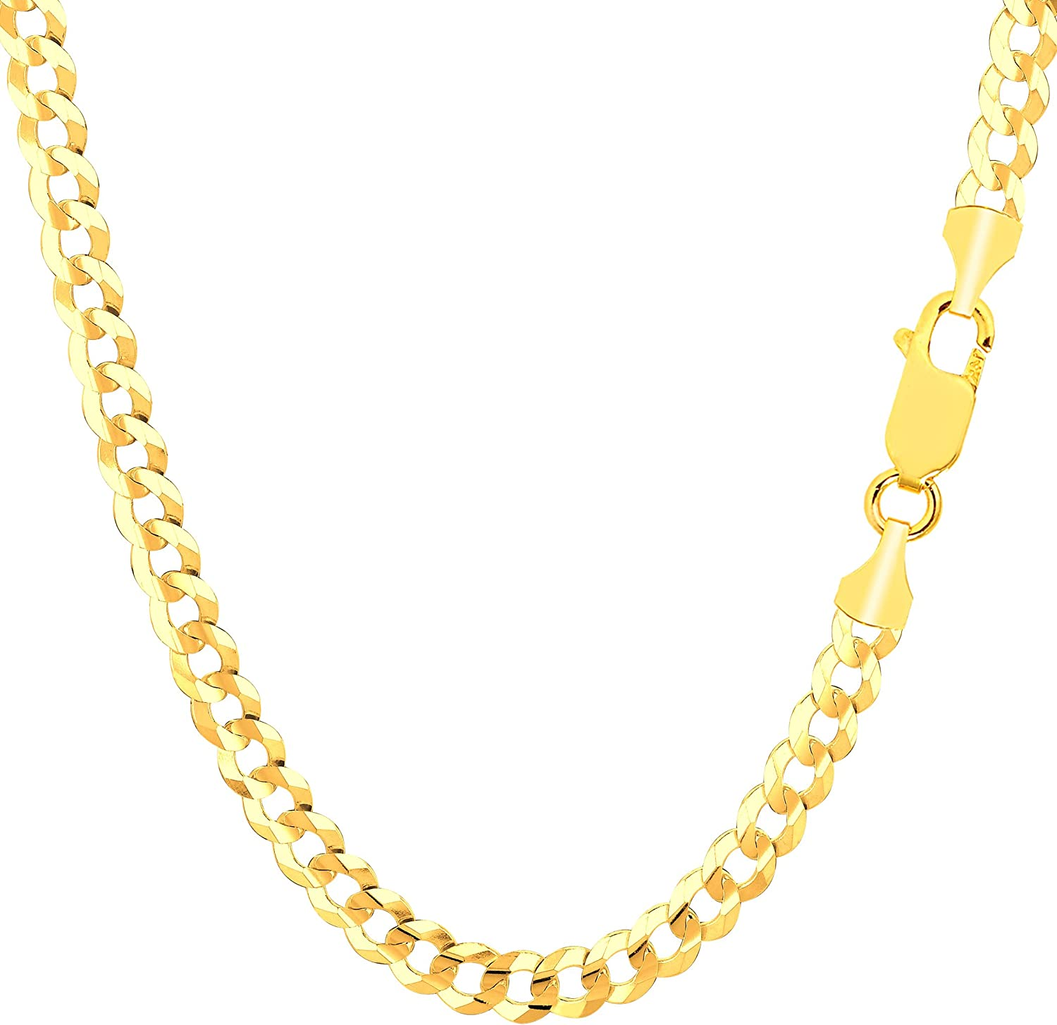 14k Yellow Gold Little Devil Pendant on a 14K Yellow Gold Rope Box or Curb Chain Necklace