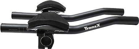 TRANZ-X(トランズエックス) JD-TB02 クリップオンバー ブラック ストレートタイプ JDTB02