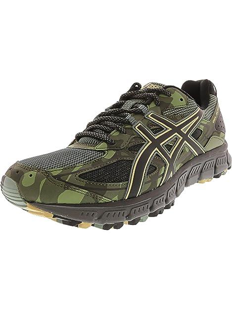 official photos 2453a 9cc93 ASICS Gel-Scram 3 Trail Running Shoe - 8M - Dark Forest Black