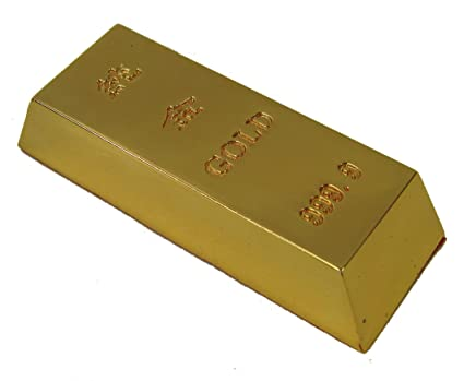 Amazoncom Feng Shui Home Decoration Gold Bar For