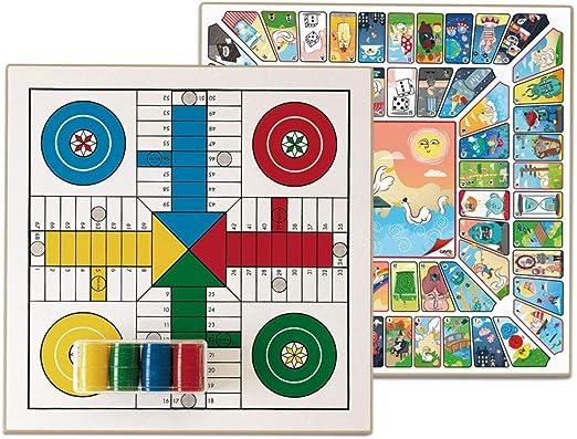 Cayro - Parchís y Oca - Juego de Tradicional - Juego de Mesa - Desarrollo de Habilidades cognitivas - Juego de Mesa (T-131/A): Amazon.es: Juguetes y juegos