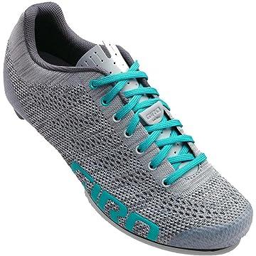buy Giro Empire E70 Knit Cycling Shoes - Women's Grey/Glacier 41