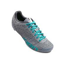 Giro Empire E70 Knit Cycling Shoes - Women's Grey/Glacier 41