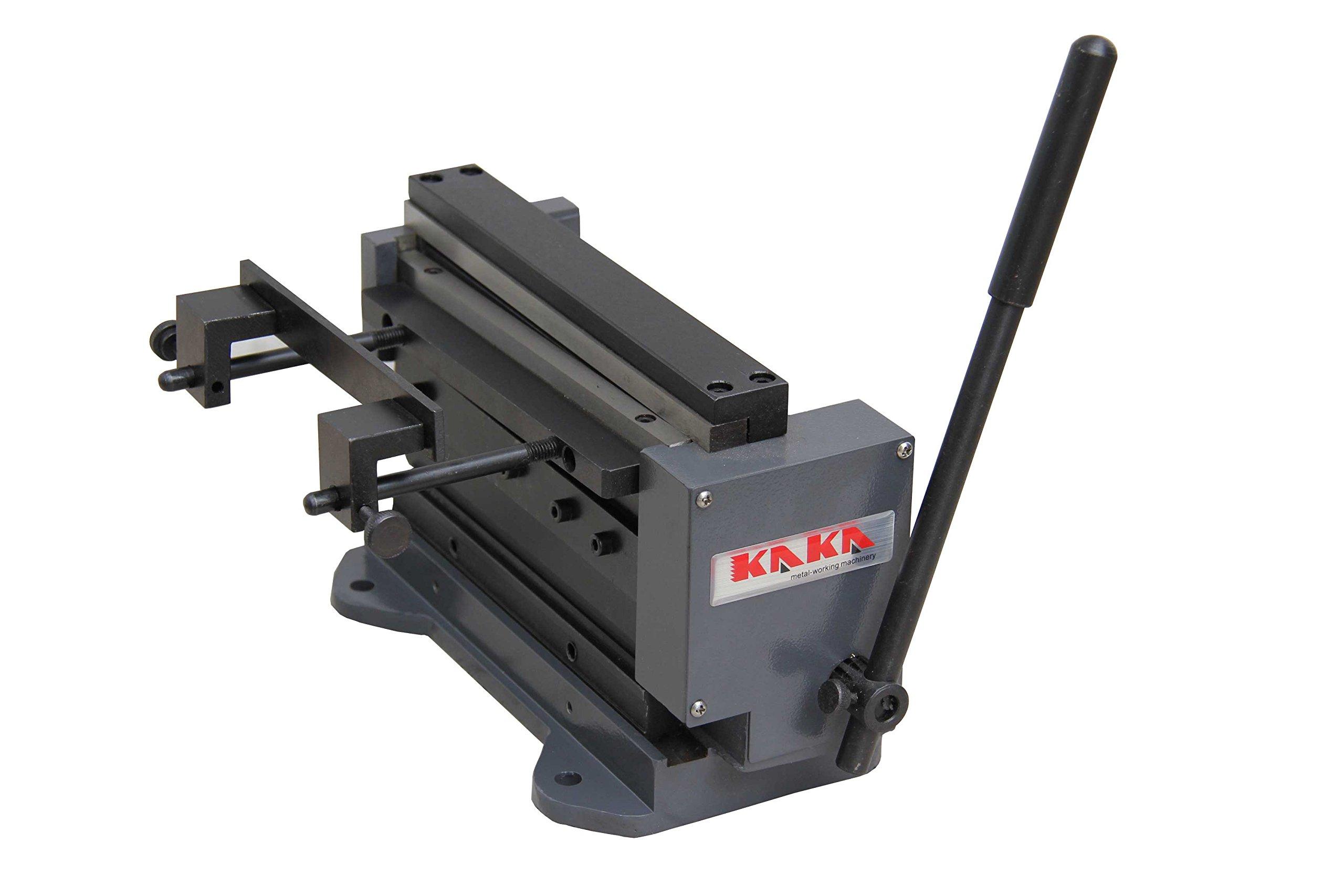 KAKA 8''MINI 8-Inch Manual Mini Shear and Brake Combination, Miniature Compact Manual Sheet Metal Brake and Shear Combination