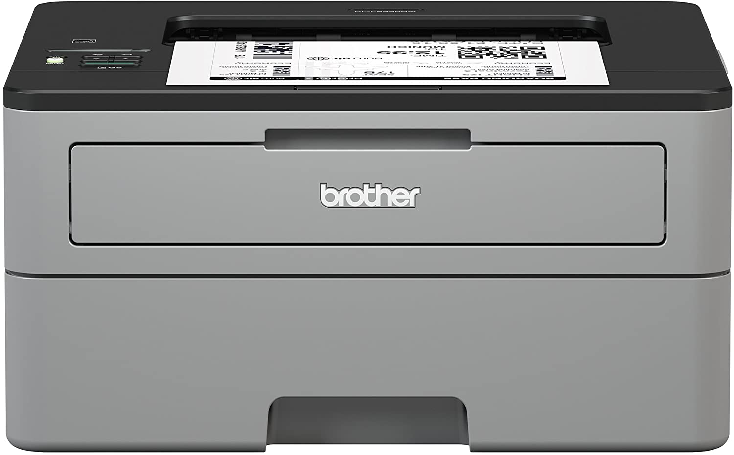 Brother Compact Monochrome Laser Printer, HL-L2350DW, Wireless Printing, Duplex Two-Sided Printing,  Dash Replenishment Ready: Office Products