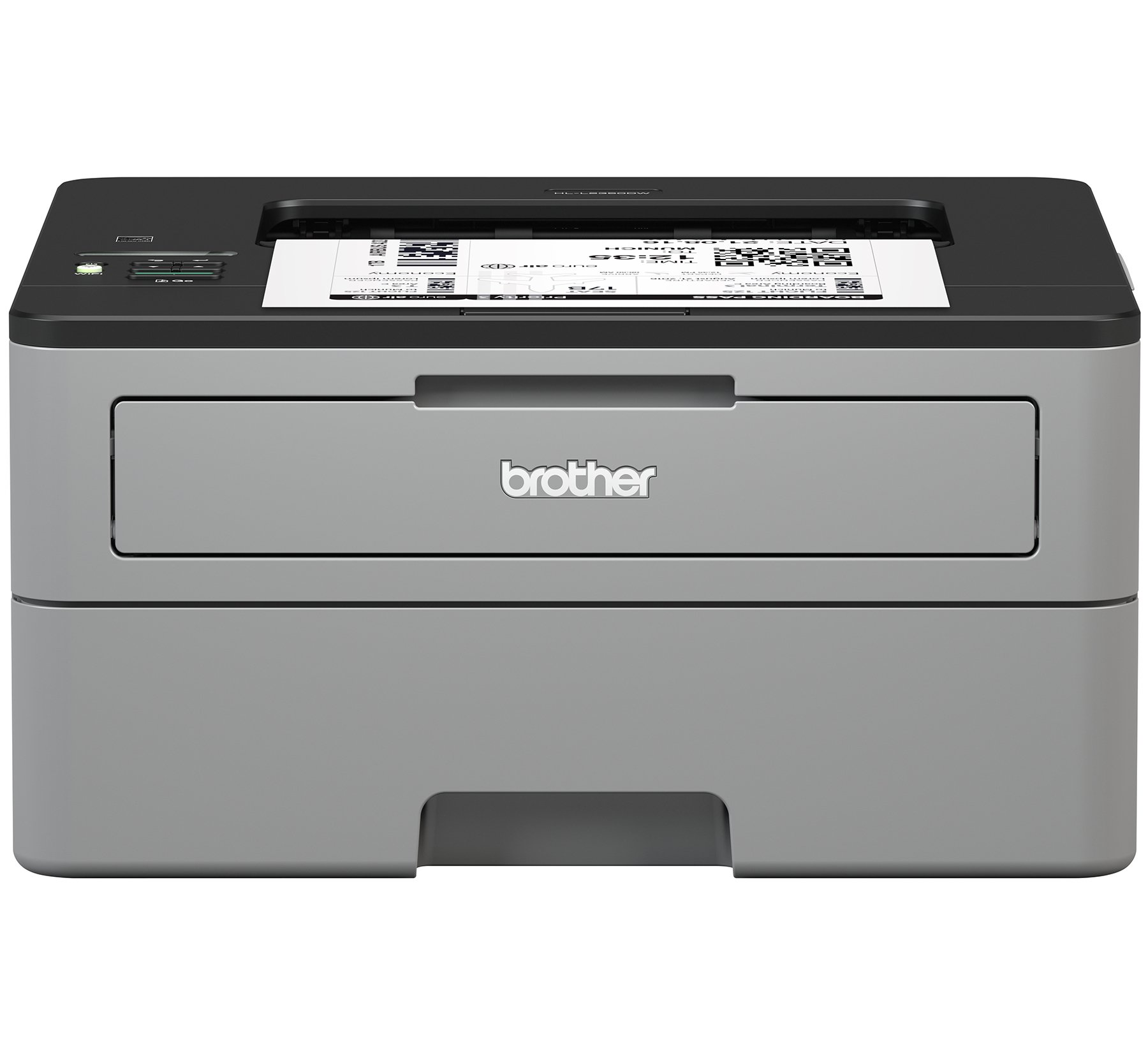 Brother Compact Monochrome Laser Printer, HL-L2350DW, Wireless Printing, Duplex Two-Sided Printing, Amazon Dash Replenishment Enabled by Brother