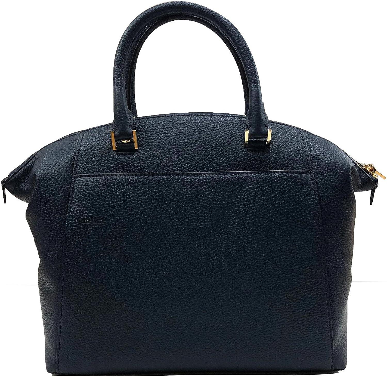 : Michael Kors Riley Large Satchel Bag Leather