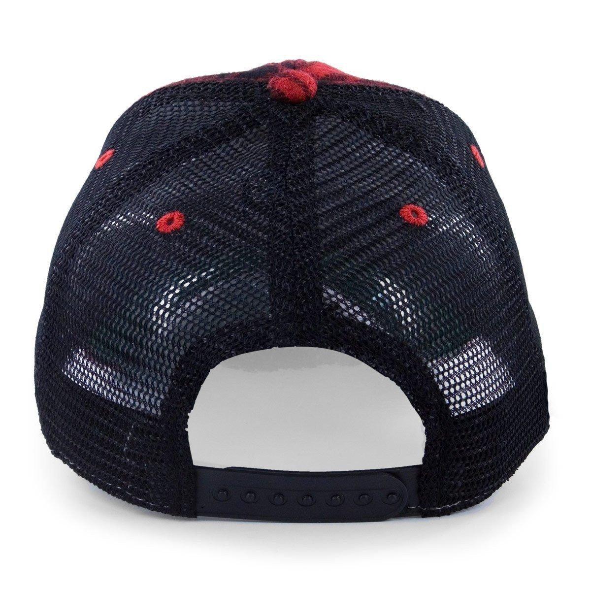 b71e732782523 Chowdaheadz Maine State Lumbahjack Mesh Trucker Hat at Amazon Men s  Clothing store