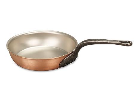 Amazon.com: Falk Culinair Sartén de cobre de 7.9 in con ...
