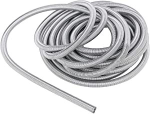 "13 Ft. Rust-resisting Stainless Steel Brake Line Protector for 3/16"" Brake Line Tubing Coil/Roll"