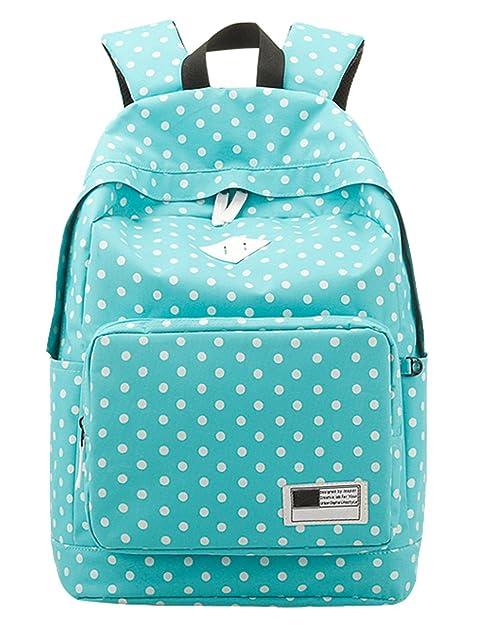 SAIERLONG - Bolso mochila para mujer azul azul talla única: Amazon.es: Informática