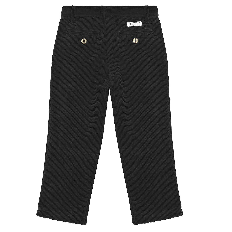763cde41c23d1e Amazon.com: Buyless Fashion Boys Pants Flat Front Straight Cut Wide Corduroy  Pattern: Clothing