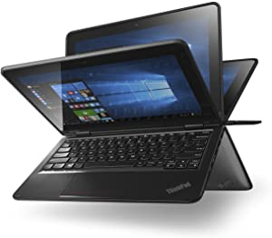 "Lenovo Thinkpad Yoga 11E-G3 Convertible, Intel:N3160/CQC, 1.6 GHz, 128 GB, Intel-HD/IGP, Windows 10 Home Edition-64 bit, Black, 11.6"" HD Touch"