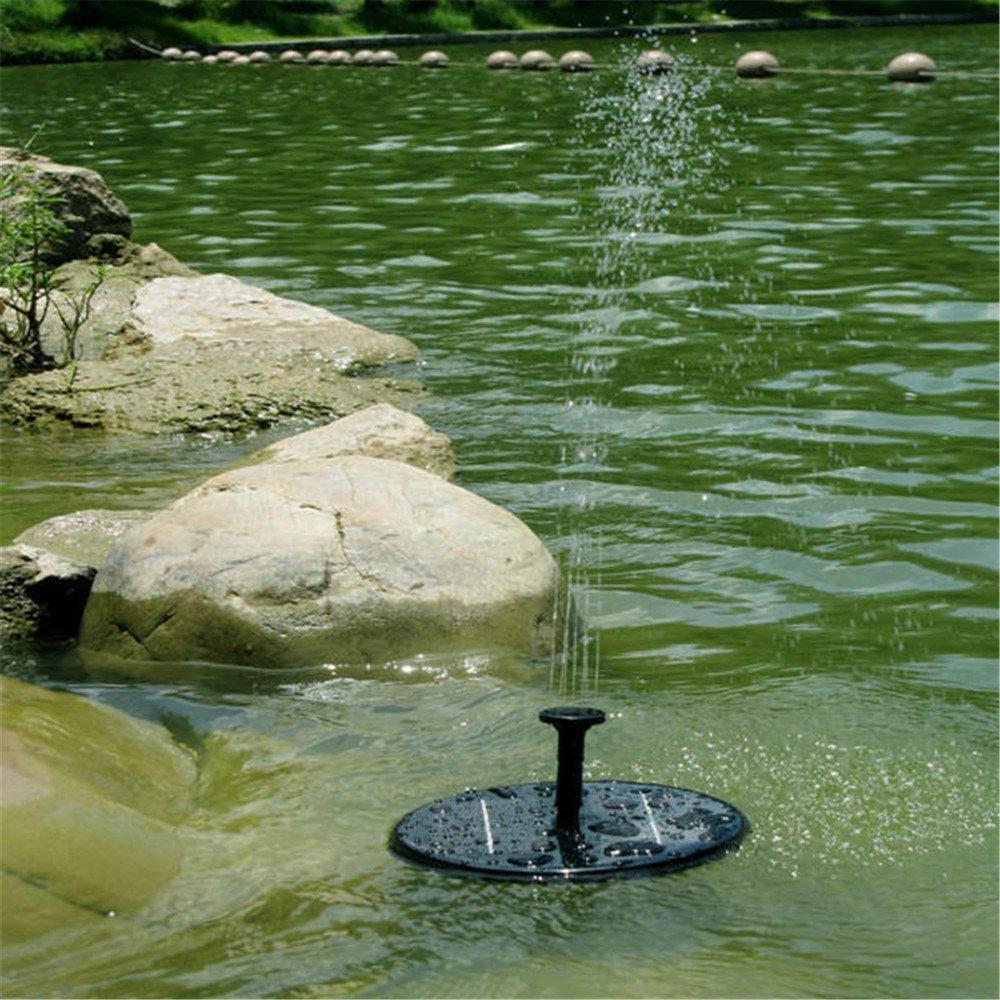 Solar Powered Bird Bath Fountain 11: ALISABLER