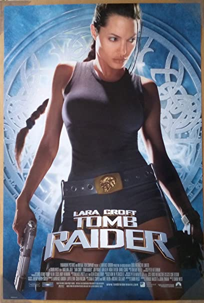 Amazon Com Tomb Raider Lara Croft Movie Poster 2 Sided Original