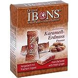 IBONS Karamell-Erdnuss Ingwerkaubonbons Orig.Scha. 60 g Bonbons