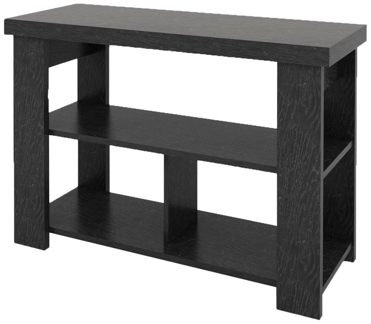 Ameriwood Home Jensen Console Table, Black Ebony Ash