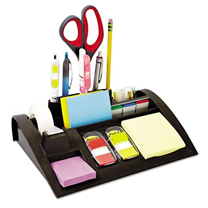 Post-it – Dispensador de notas con base pesada, plástico, 12 x 8