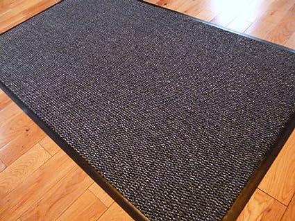 BEST Black Entrance Coir Mat Multiple Sizes UK Floor Mat