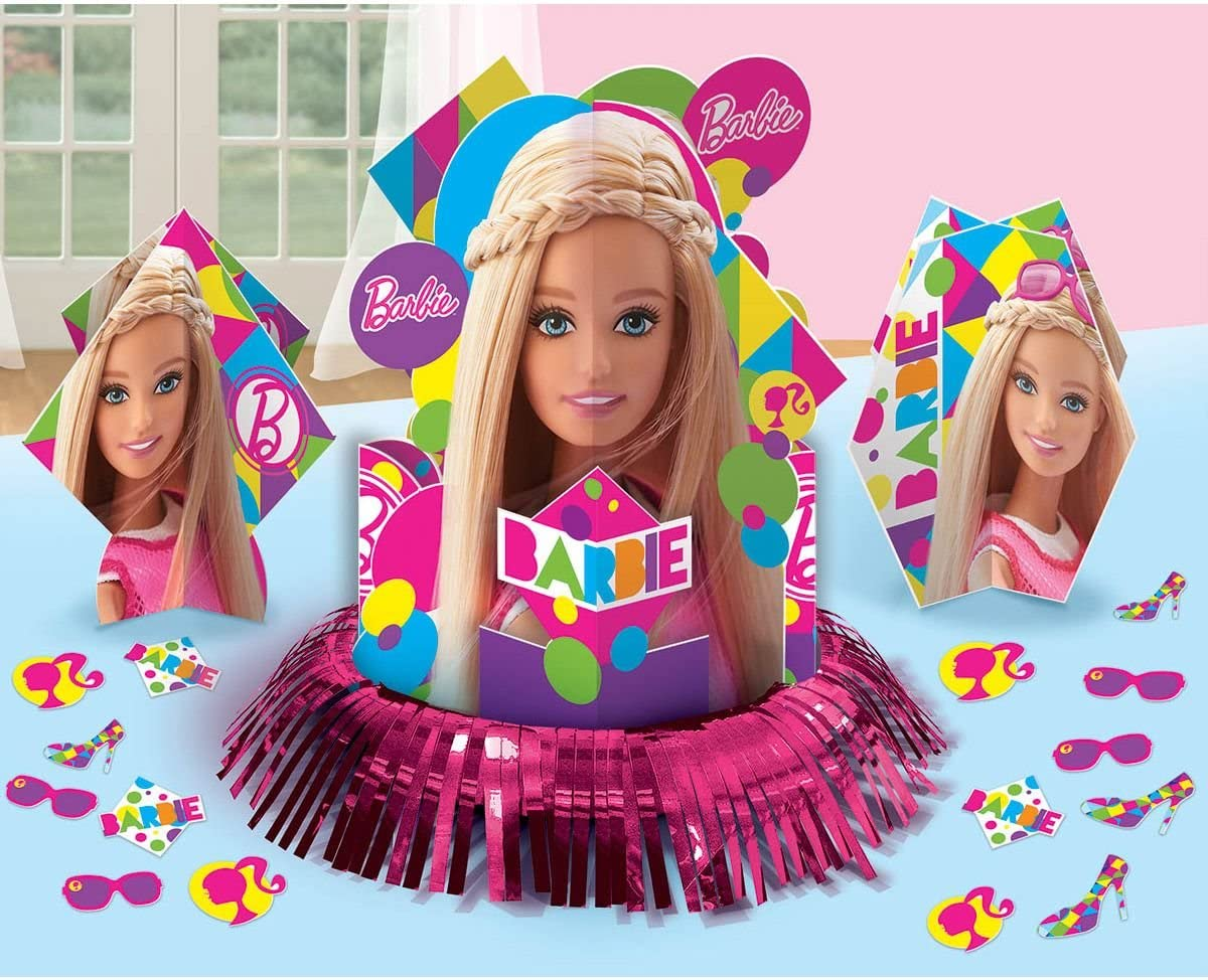 Table Decorating Kit | Barbie Sparkle Collection | Party Accessory