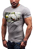 BOLF - T-shirt - Manches courtes - GLO STORY 7456 - Homme
