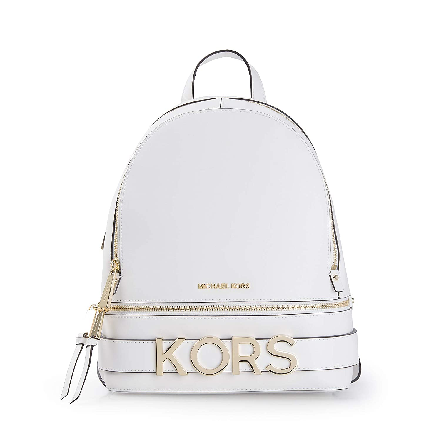 0c82d73f79fc Amazon.com  MICHAEL Michael Kors Rhea Medium Embellished Leather Backpack