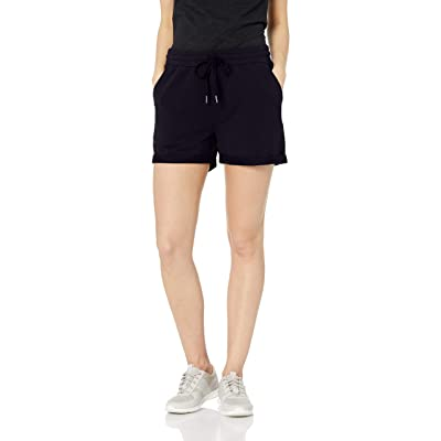Brand - Daily Ritual Women's Terry Cotton and Modal Roll-Bottom Short: Clothing