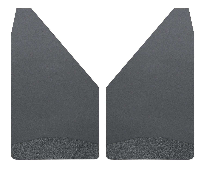 Husky Liners Universal Mud Flaps 12' Wide - Black Wt - Universal 17152
