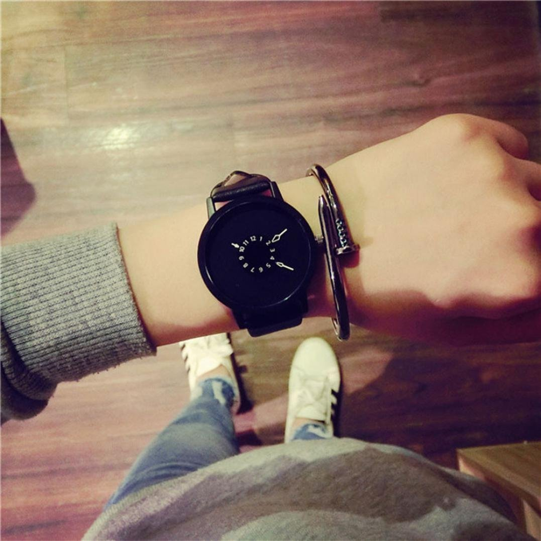 Relojes Sunday Reloje Muy Bonito Relojes Mujerde Reloj Blanco Negro ... b381d556782f