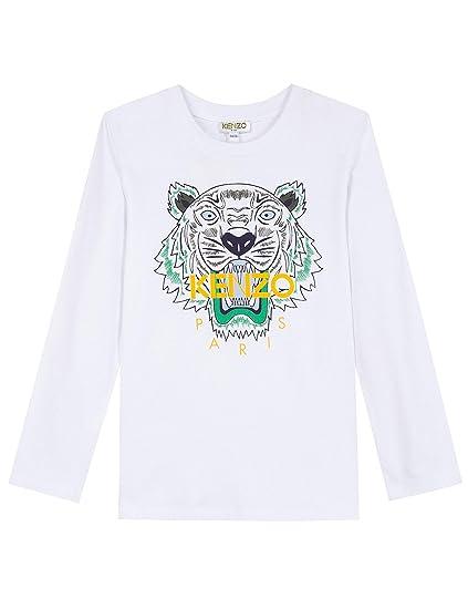 0690f6035f6 Kenzo T-Shirt Tiger JB 2 Blanc  Amazon.fr  Vêtements et accessoires