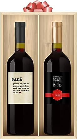 Pack Vinos Personalizados para Grandes Papás: Amazon.es ...